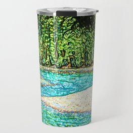 A River Through the Trees Travel Mug