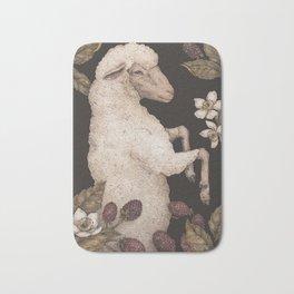 The Sheep and Blackberries Bath Mat