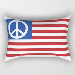 Peace in America Rectangular Pillow