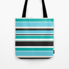 Vivid Stripes Tote Bag