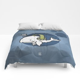 Music Whale Comforters