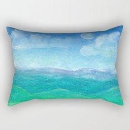 Blue Ridge Evening Rectangular Pillow