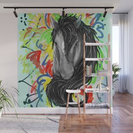 Fancy Pony Wall Mural