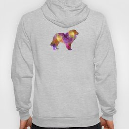 Estrela Mountain Dog in watercolor Hoody