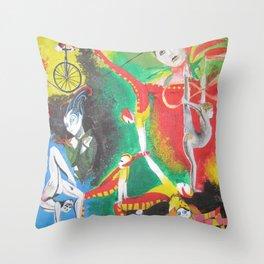 Cirque Throw Pillow
