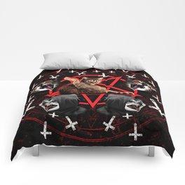 satanic cat pentagram death black metal band exorcist Comforters