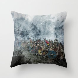 The Great Army Throw Pillow