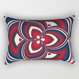 Spiral Rose Pattern A 1/4 Rectangular Pillow