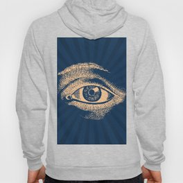 Pop Art Retro Eye Pattern Hoody