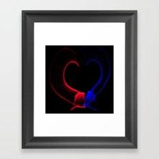Heart of Light Framed Art Print