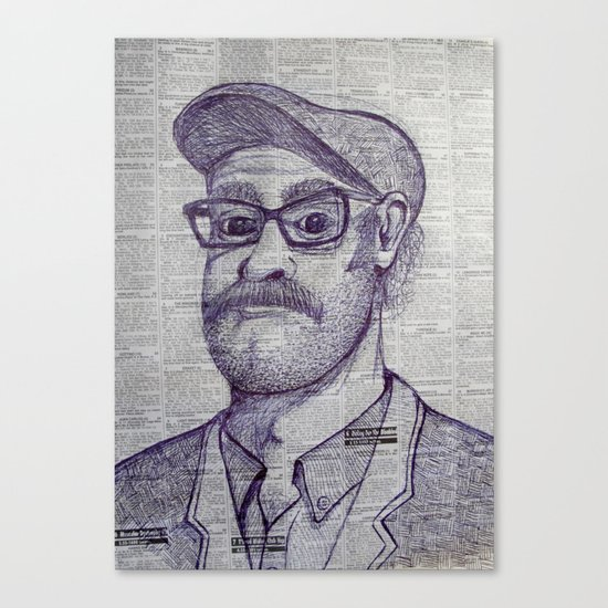 the raw punter Canvas Print