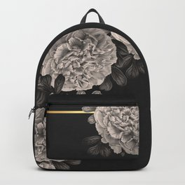 Flowers on a winter night Backpack