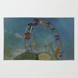 Textured Ferris Wheel Rug