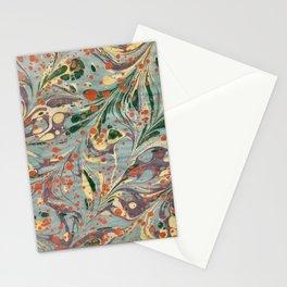 Vintage Marbling Stationery Cards
