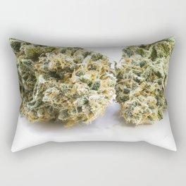 Two Buds Rectangular Pillow