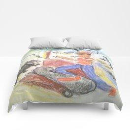 Galapagos Chillen Comforters