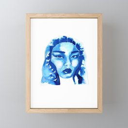 CLAIRE Framed Mini Art Print