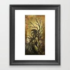 Dark Dryad Framed Art Print