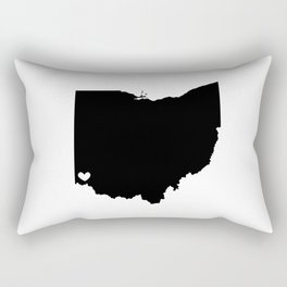 Cincinnati, Ohio, Home Rectangular Pillow