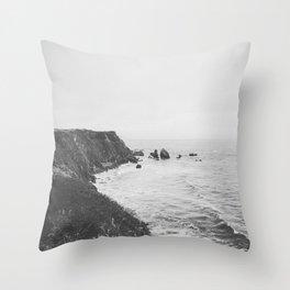 CALIFORNIA COAST Throw Pillow
