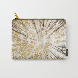 fall looking up Carry-All Pouch