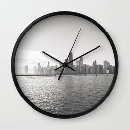 In Chicago Wall Clock