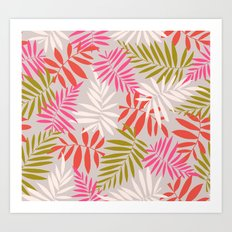 Tropical fell Art Print