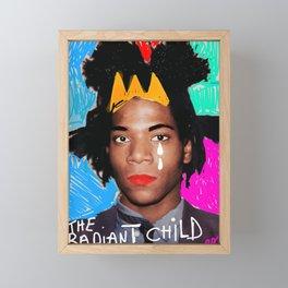 The radiant child Framed Mini Art Print