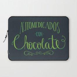 Automedicados con Chocolate Laptop Sleeve