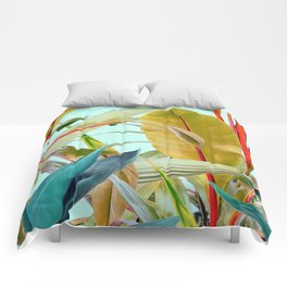 Tropical Jungle Comforters