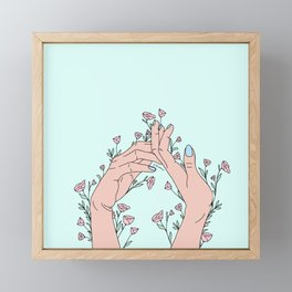 Let It Grow Framed Mini Art Print