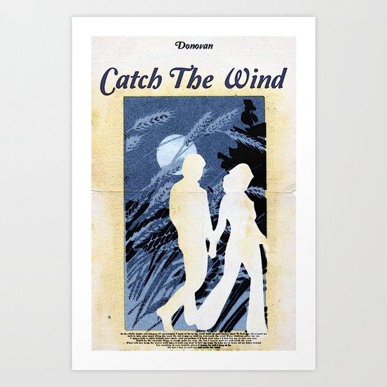 Catch The Wind Art Print