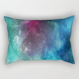 Watercolor - Galaxy Nebula Rectangular Pillow