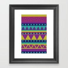 Aztec 1# Framed Art Print