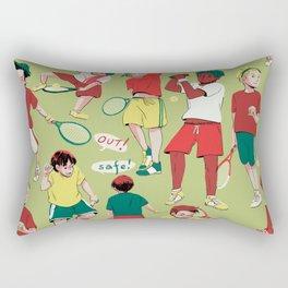 Tennis Boys Rectangular Pillow