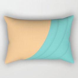 Beach Wave Rectangular Pillow