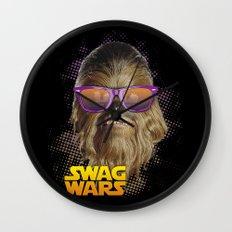 Chewbacca Swag Wall Clock