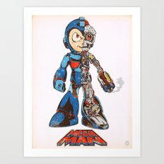Mega Dissection Art Print