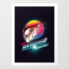 The Rocketeer Art Print
