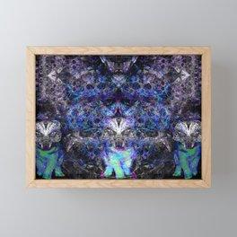 The Ice Husky Pack Framed Mini Art Print