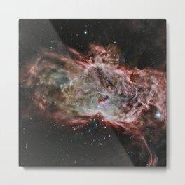 296. Inside the Flame Nebula Metal Print