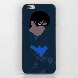 Nightwing Minimalism iPhone Skin