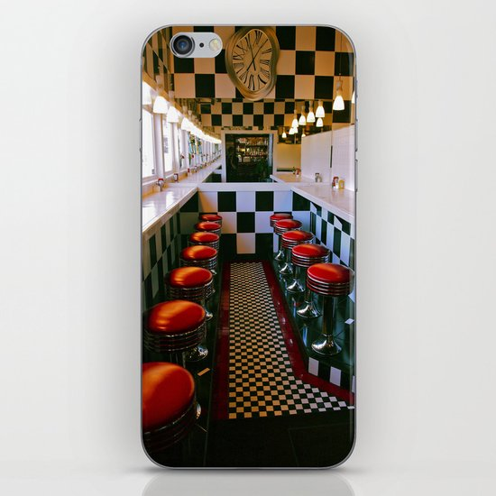 Diner classic iPhone & iPod Skin