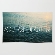 You Are Beautiful Rug