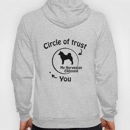 Circle of trust my Norwegian Elkhound Hoody