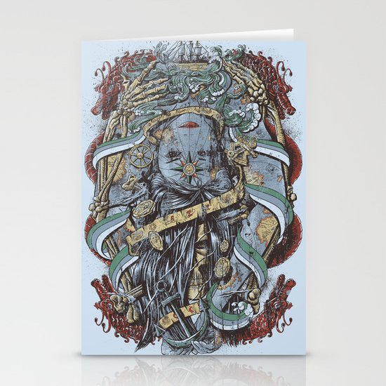The Sailor & the Syren Stationery Cards