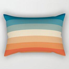 Summer Color Lines Rectangular Pillow