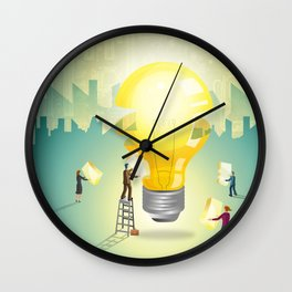 Innovation Wall Clock