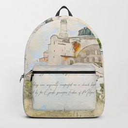 Hagia Sophia, Istanbul Backpack