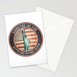 Stand For The Flag Stationery Cards